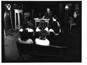 A photography lecture in 1947