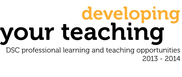 logo for Developing Your Teaching DSC opportunities