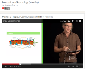 RMIT's Open2Study Course: Foundations of Psychology