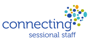Connecting Sessional Staff Logo