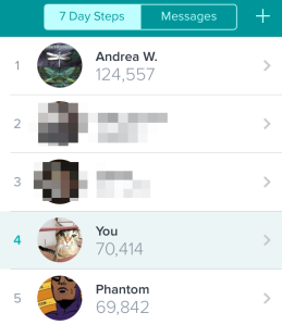 Fitbit Screengrab