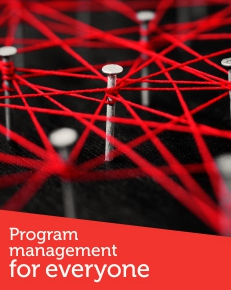 Click on the image to view RMIT's web resources on program management.