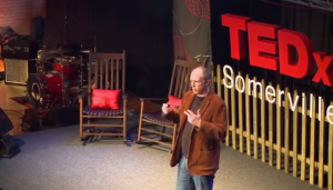 "Click on the image to see Dan Rothstein's TEDx presentation: ""Asking questions is the single most powerful renewable source of intellectual energy: It's in our minds we can create it, we can create it continuously..."""